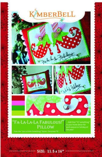 Fa-La-La-La Fabulous - Just a Little Something for a Merry Christmas #4 | Quilting Pattern | $5 SALE (now through 07/29/14 MST) | YouCanMakeThis.com