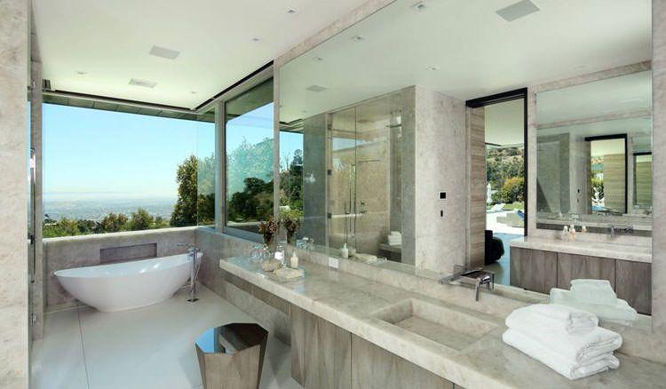 Bagni di lusso con vista mozzafiato bagni di design bagno