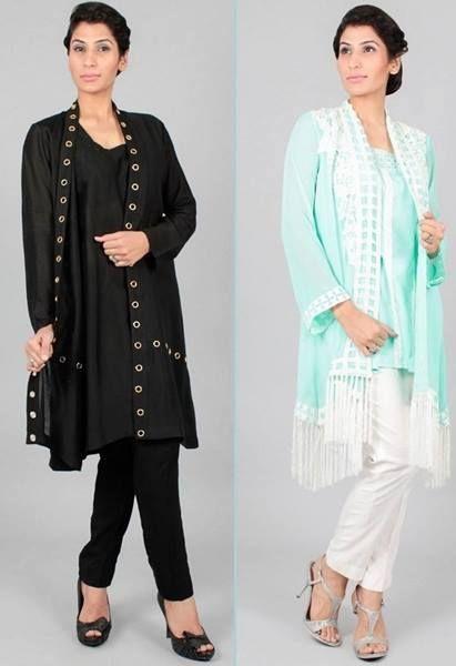 Front Open Double Shirt Dresses Designs Collection 2020 ...