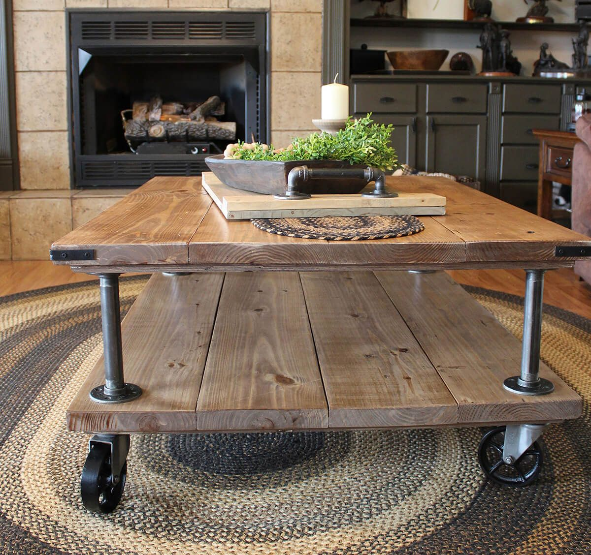 36 Beautiful Coffee Tables For All Living Room Styles Farmhouse Coffee Table Decor Coffee Table Farmhouse Decorating Coffee Tables