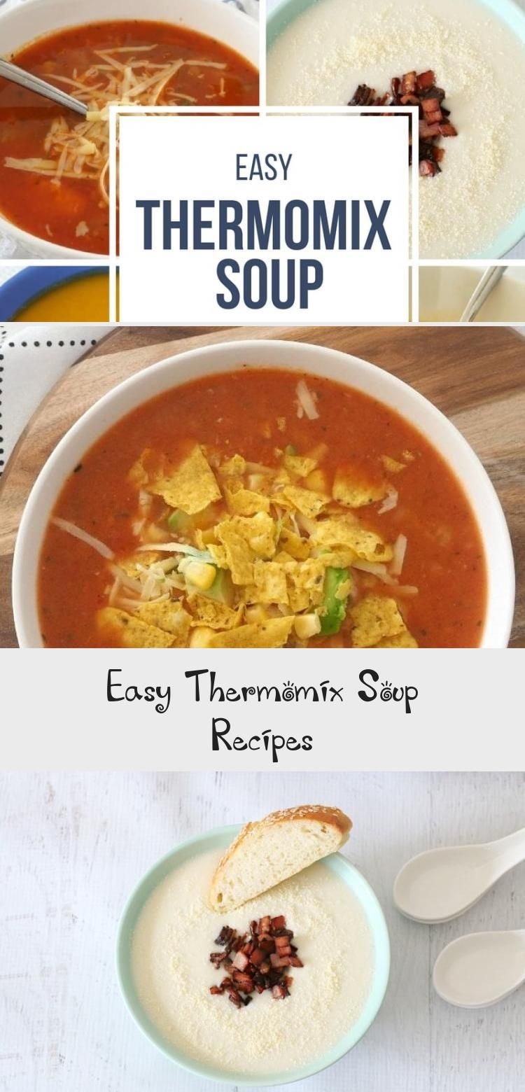 Photo of Easy Thermomix Soup Recipes – Recipes