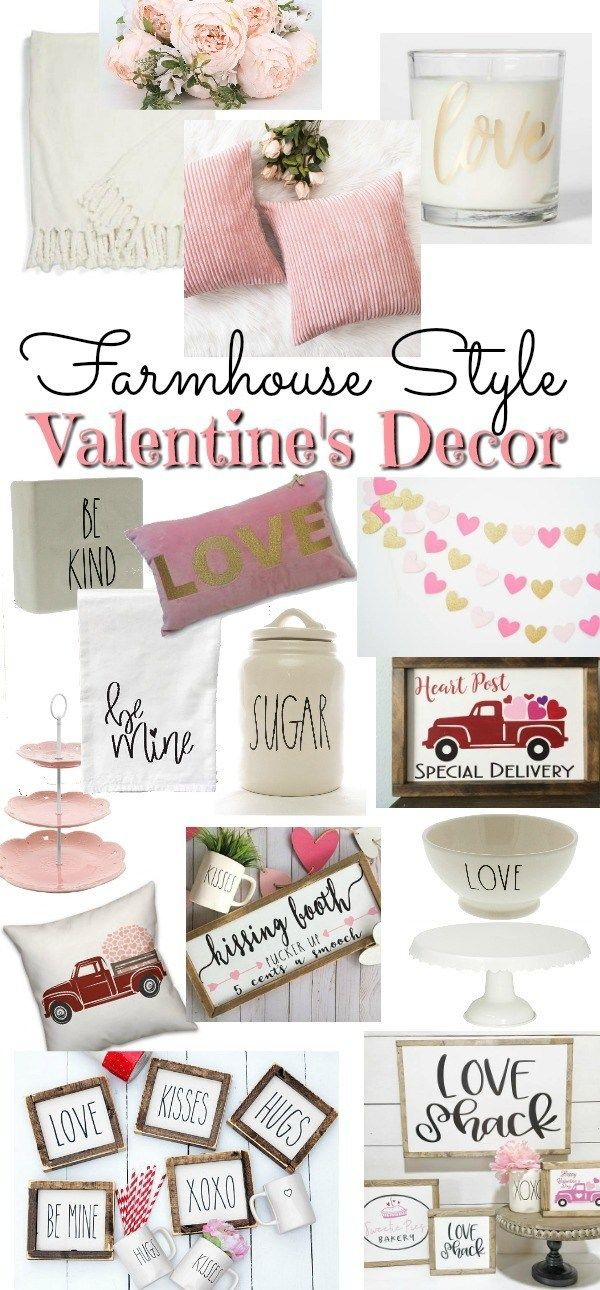 Farmhouse Style Valentine's Decor - Beauty For Ashes