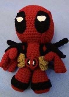Deadpool Sackboy Free Crochet Pattern Amigurumis Pinterest