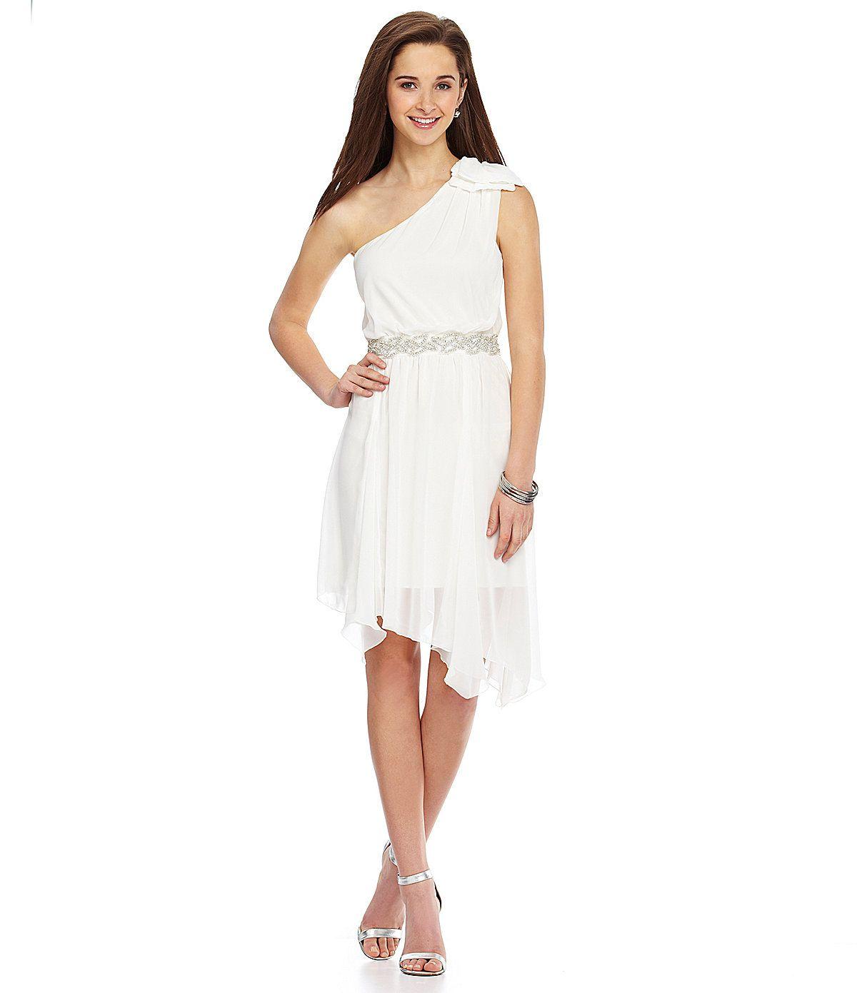 Jodi kristopher one shoulder beaded dress dillards jodi kristopher one shoulder beaded dress dillards ombrellifo Gallery