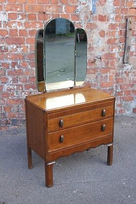 the latest ffe81 13149 VINTAGE MID-CENTURY OAK DRESSING TABLE - DRESSING CHEST BY ...