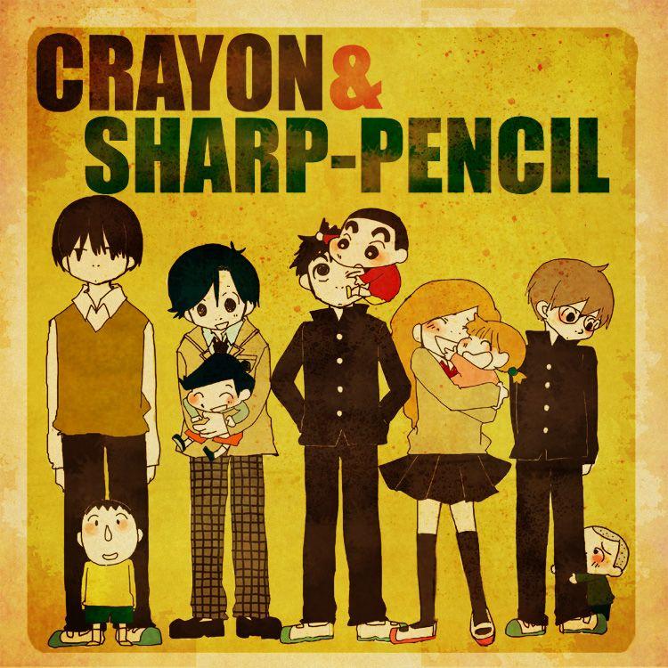 Crayon& Sharp-pencil