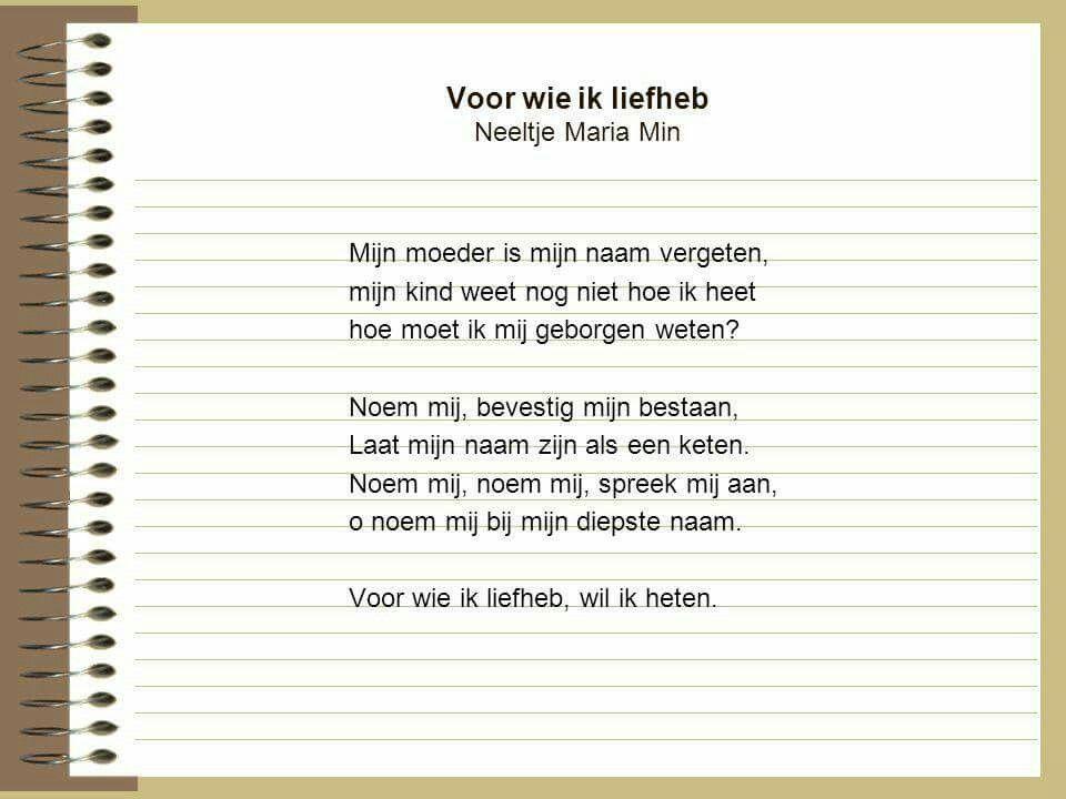 Neeltje Maria Min Gedichten En Gezegden