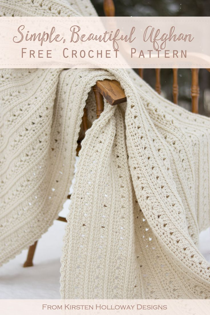 Photo of Easy Primrose and Proper Crochet Blanket Pattern – Kirsten Holloway Designs