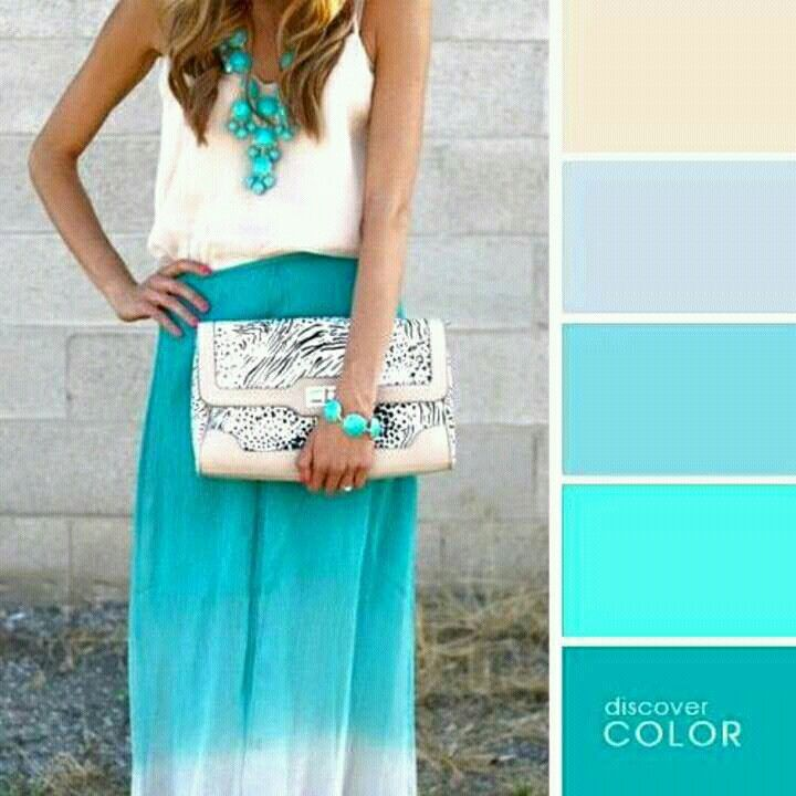 Aguamarina Colour Combinations Fashion Color Combinations For Clothes Colorful Fashion