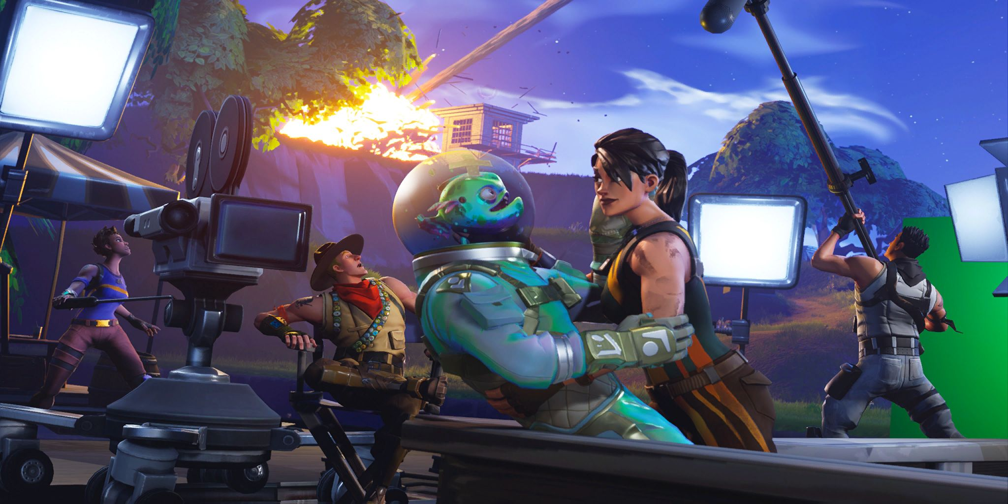 Fortnite Loading Screen Wallpaper Hd Desktop Background Skins