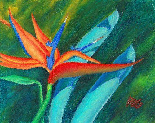 oil pastel art | Russell Lee - Painting, Art & Design: Misty ...
