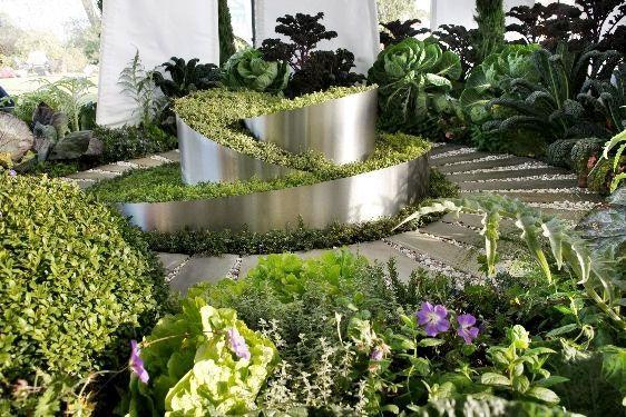 идеи оформления огорода