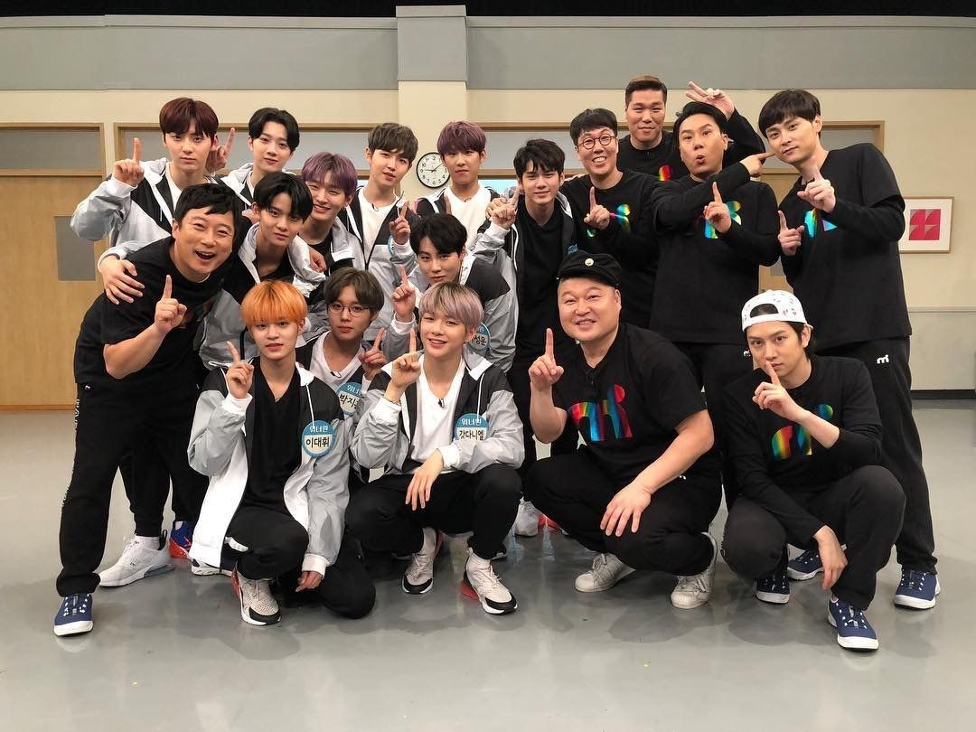 Wanna One With Knowing Brother Wanna One Di 2019