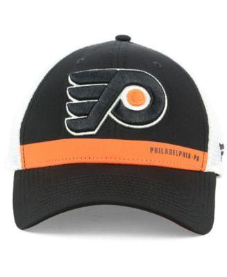 Authentic Nhl Headwear Philadelphia Flyers Rinkside Trucker Adjustable Cap  - Black Adjustable e14c225e1fde