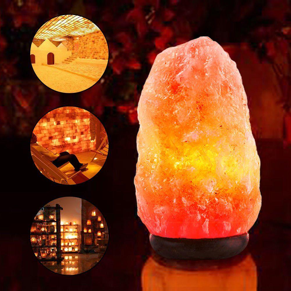 Himalayan Natural Ionic Rock Crystal Salt Night Lamp Air
