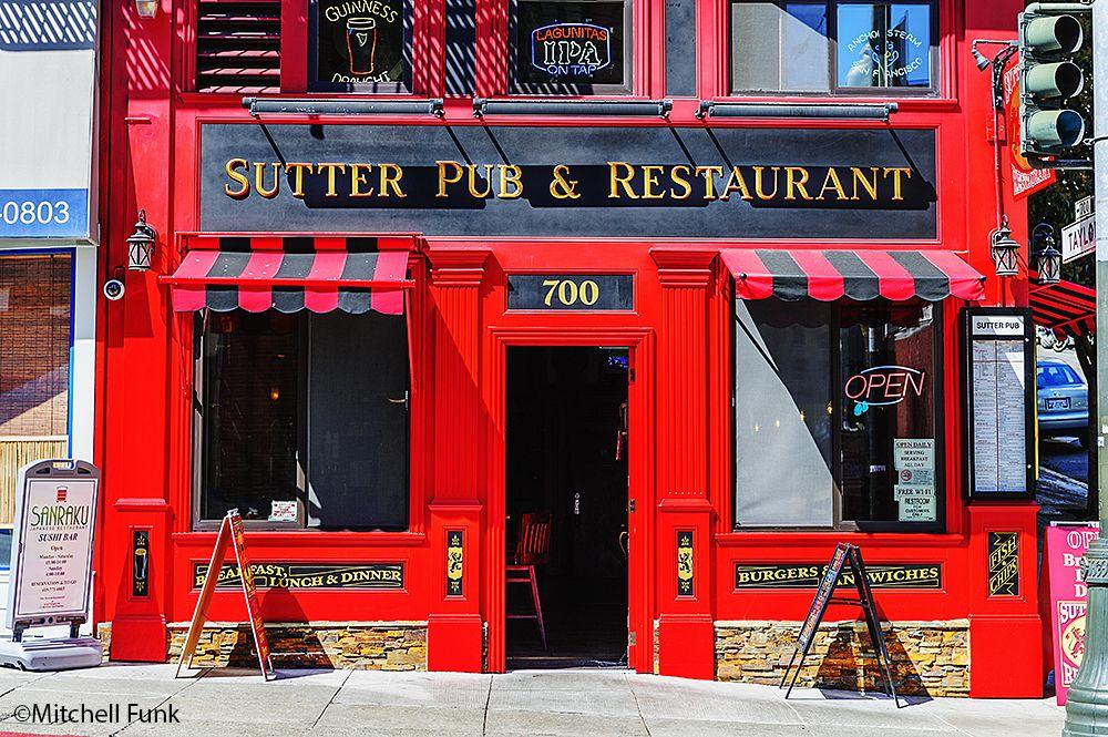Red On Sutter Street, San Francisco www.mitchellfunk.com