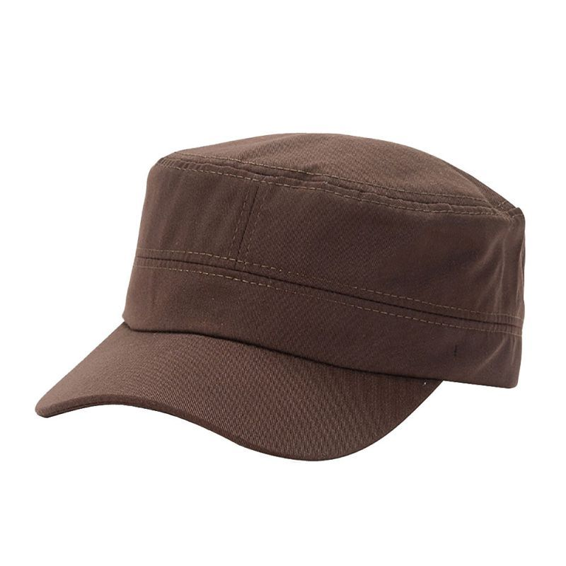 New Style Women Outdoor Military Hat Army Cadet Patrol Castro Cap Men Golf  Driving Summer Hat 9df861fddfb