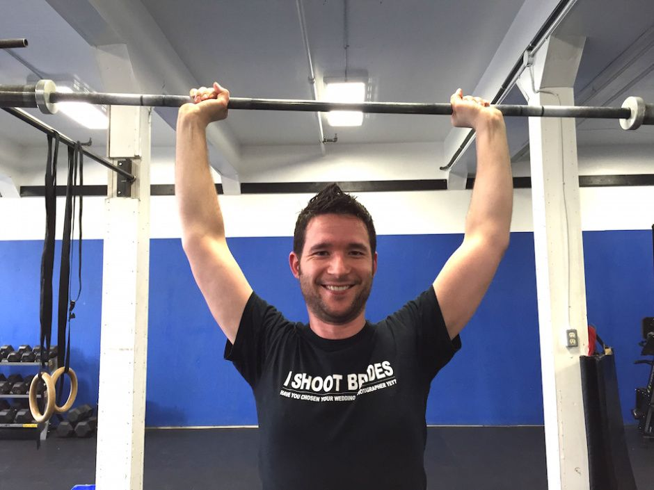 When we were starting out with Crossfit. (still doing it and still loving it!)