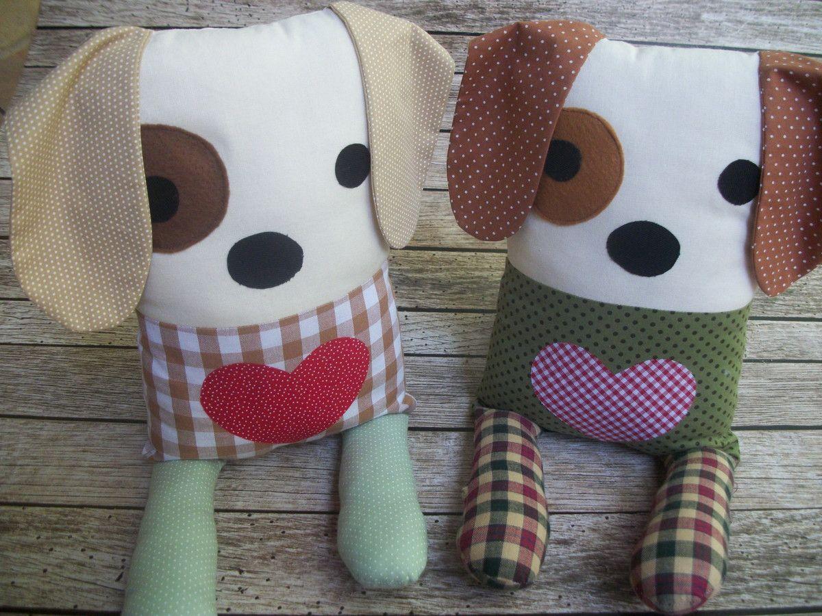 Travesseiro cachorrinho, confeccionado com tecido de algodão , confortável, macio enchimento fibra anti alérgica. <br>Valor referente a unidade. <br>Fazemos em outras cores.