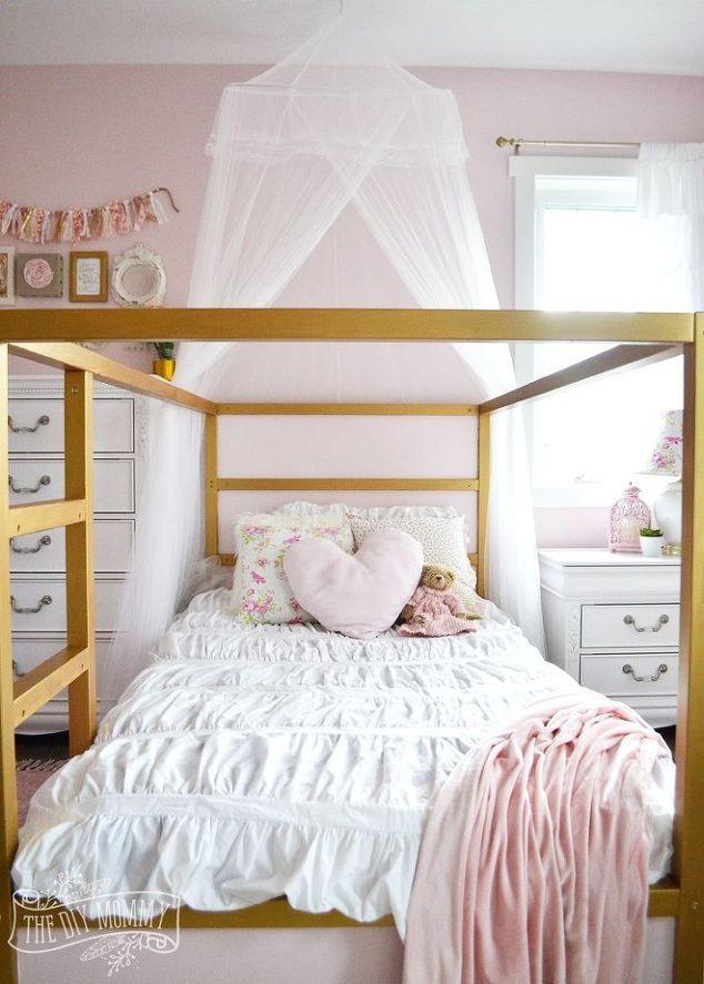 Glam Little S Bedroom Makeover