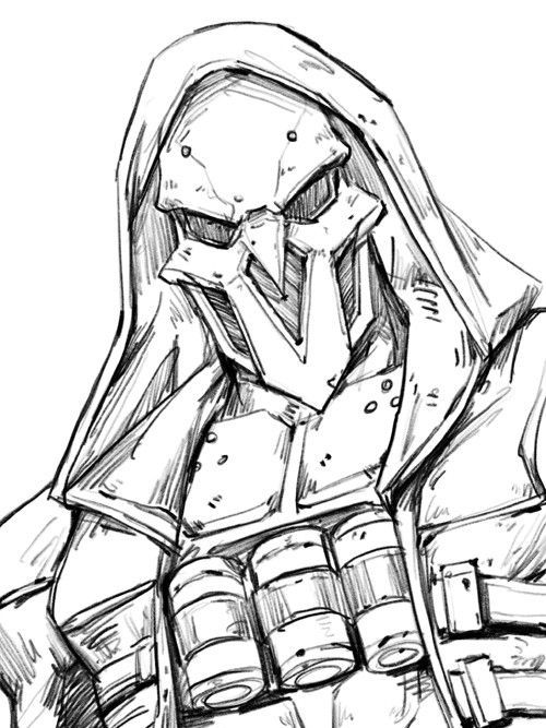 How To Draw Reaper Overwatch Free Download Oasis Dl Co
