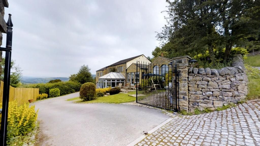 External view of the property peak district cottages