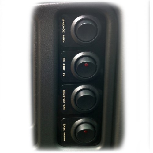 Nitrous Express 15772 Custom Switch Panel for GM Truck
