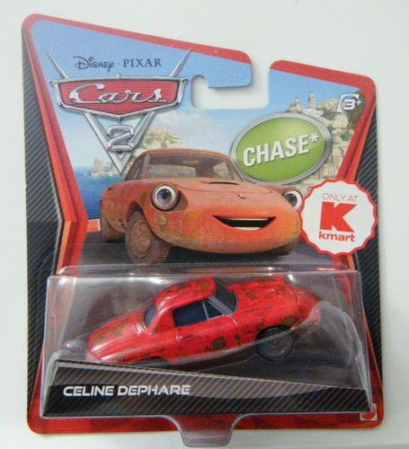 Disney Pixar Cars 2 Celine Dephare Rare Exclusive Chase