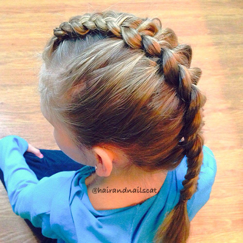 Dutch mohawk braid hairandnailscat pinterest mohawks
