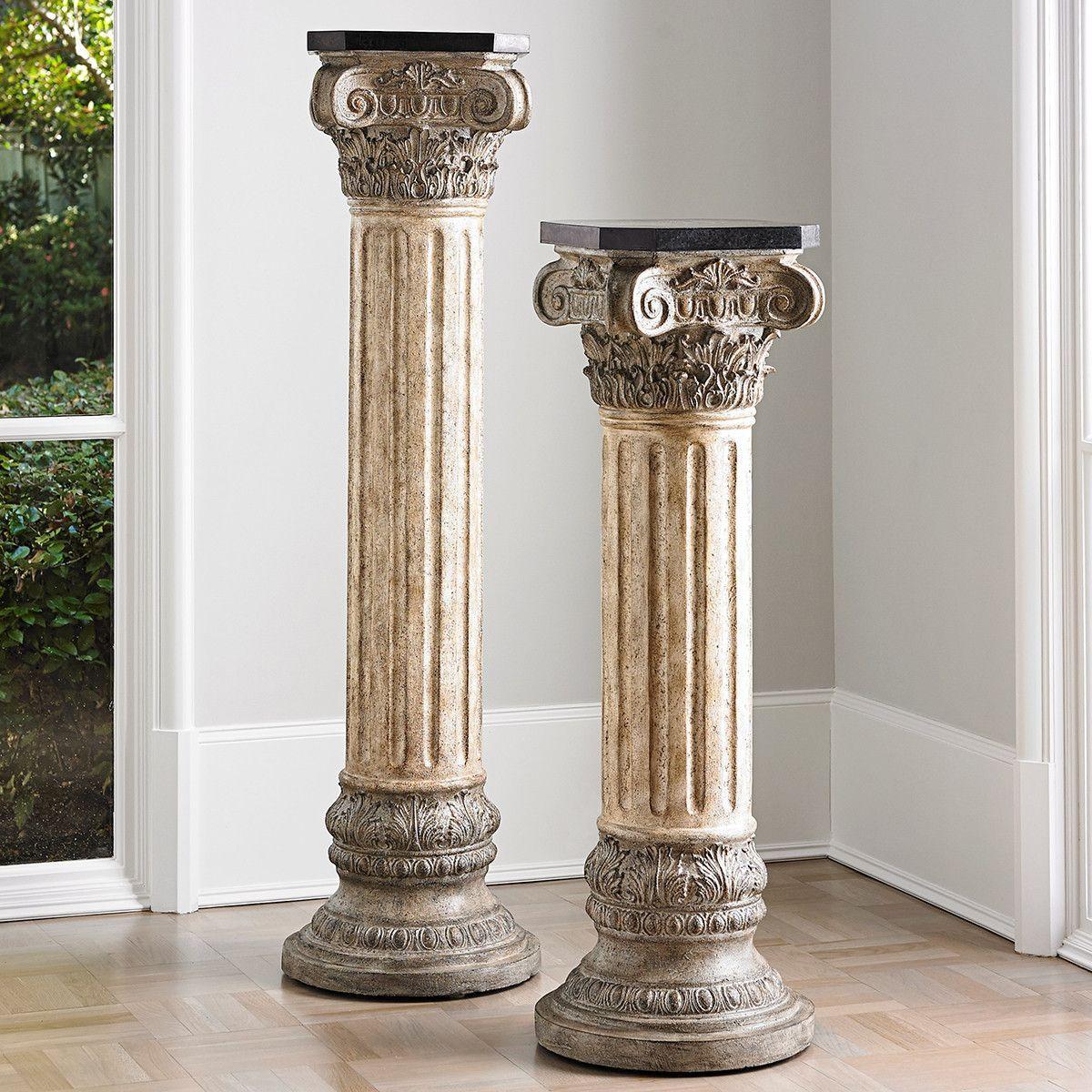 Ambella home corinthian majesty pedestal products pinterest