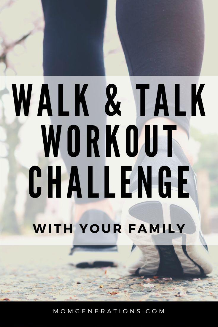 Walk and Talk Workout Challenge with your Kids - Looking to get your family more active? Take this w...