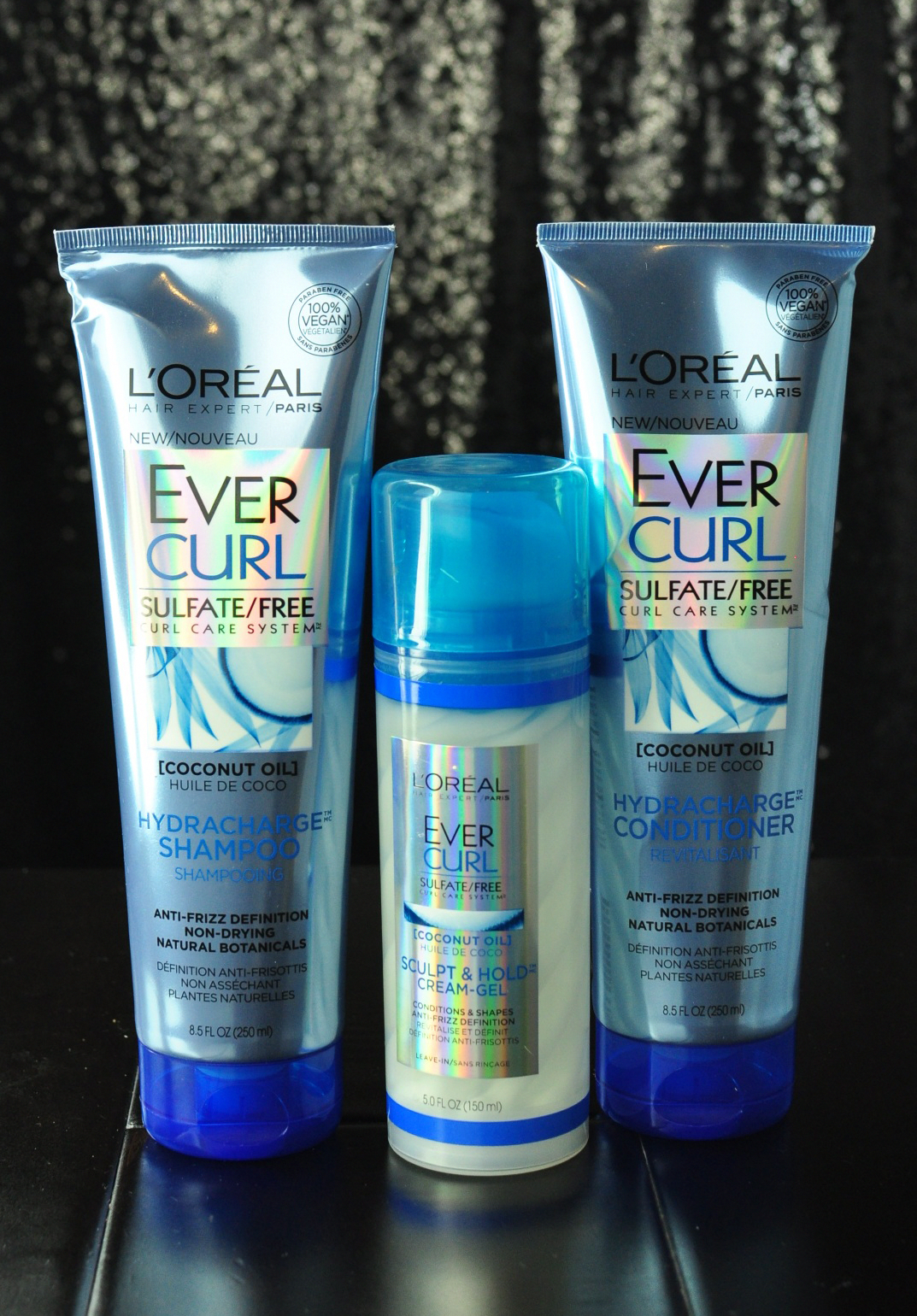 L'Oreal Ever Curl Coconut Oil Hair Care Review Coconut