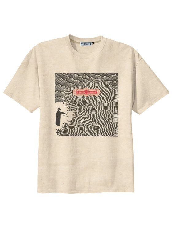 Retro Thom Yorke Radiohead The Eraser Rock T-Shirt Tee Organic Cotton  Vintage Look Size