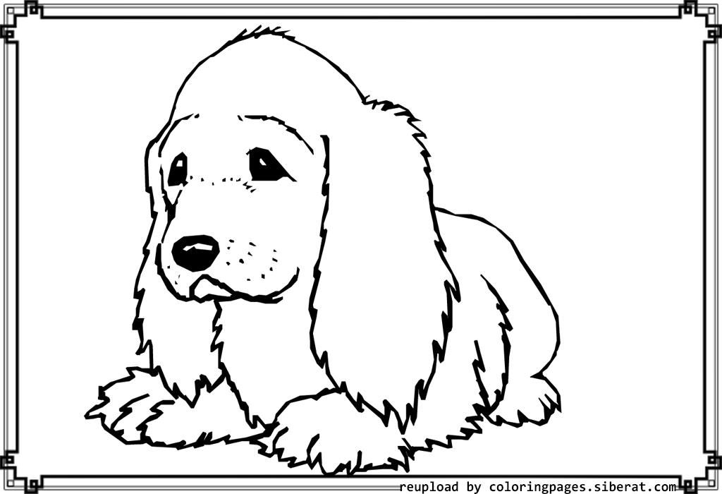 Cute Dog Coloring Pages Sit Down Coloring Pages Dog Coloring