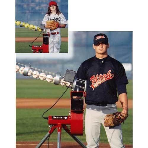 Baseball Softball Combo Pitching Machine Auto Feeder