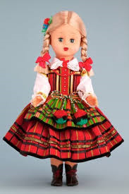 Polish Folk Baby Doll - Opoczyn