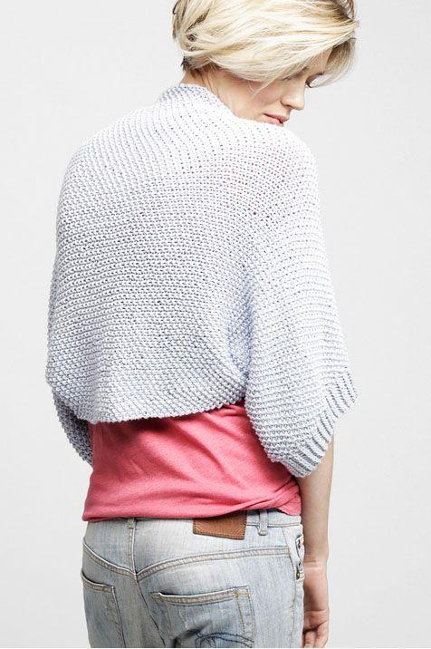 Easy #knit  ~ RIRI Shrug ~ #knitting #pattern