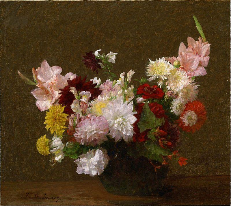 Victoria Dubourg (FantinLatour) Flowers Google Art