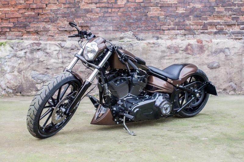 Harley Davidson Breakout Softail Custom Kilimanjaro By Nine Hills Softail Custom Softail Harley Davidson Bikes