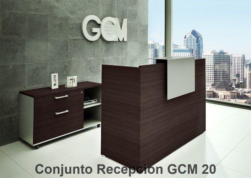 Conjunto recepcion gcm 20 800 567 for Diseno de oficinas contemporaneas