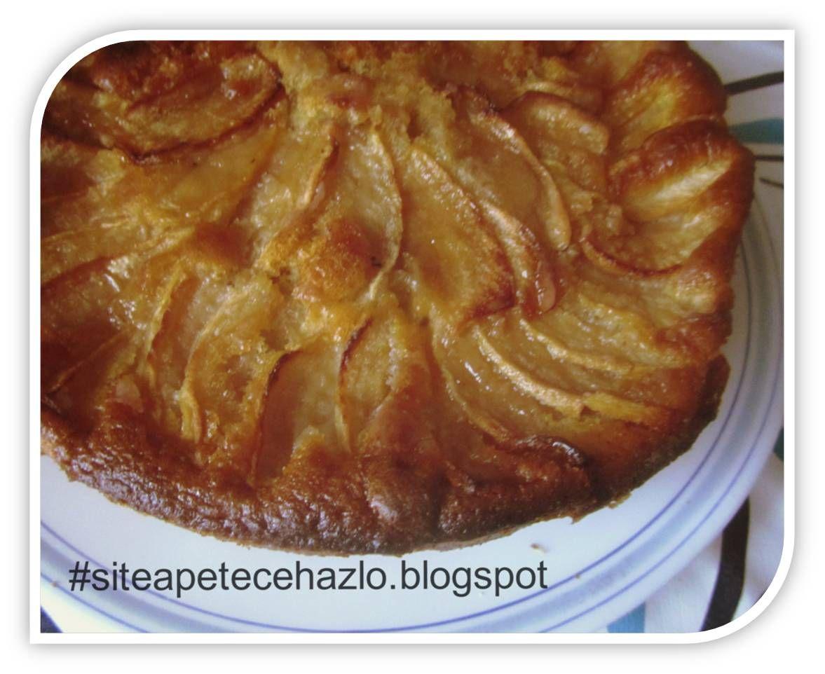 Bizcocho De Manzana Jugoso Bizcochos De Manzana Manzana Recetas De Comida