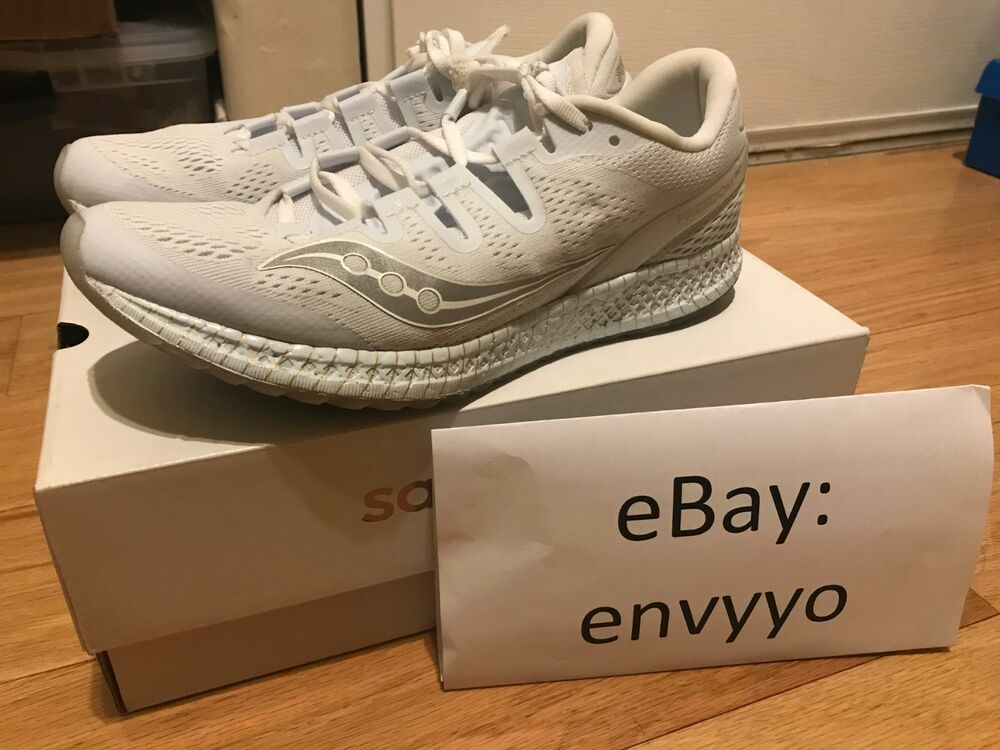 Saucony Freedom Iso White Gold Limited Everun Ultra Zoom Kinvara Ride Grid Jazz Fashion Clothing Shoes Accesso Black Running Shoes Road Running Shoes Shoes
