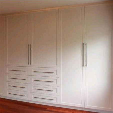Home dzine how to build and assemble built in cupboards or wardrobes diy pinterest Build your own bedroom wardrobes