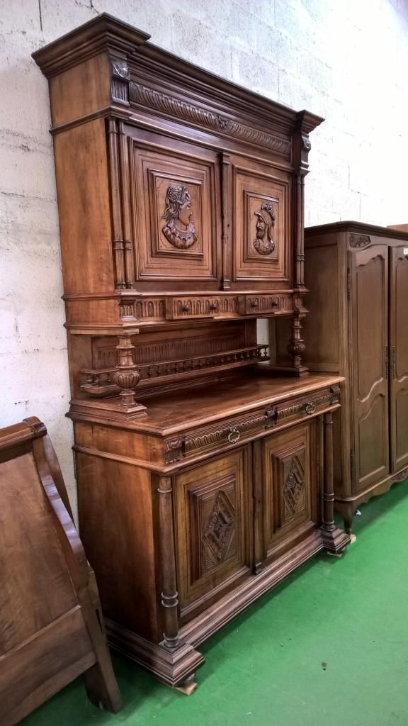 10116 2 buffet 2 corps henri ii suite antiquit brocante vintage mobiliers pinterest. Black Bedroom Furniture Sets. Home Design Ideas