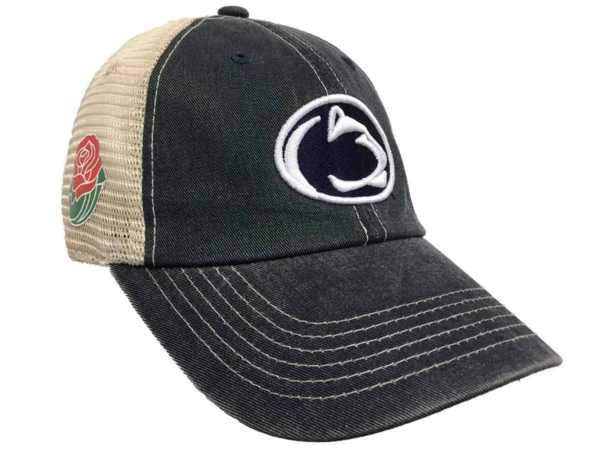 new concept f3f3b 95ab9 Penn State Nittany Lions 2017 Rose Bowl College Football Mesh Adjustable Hat  Cap