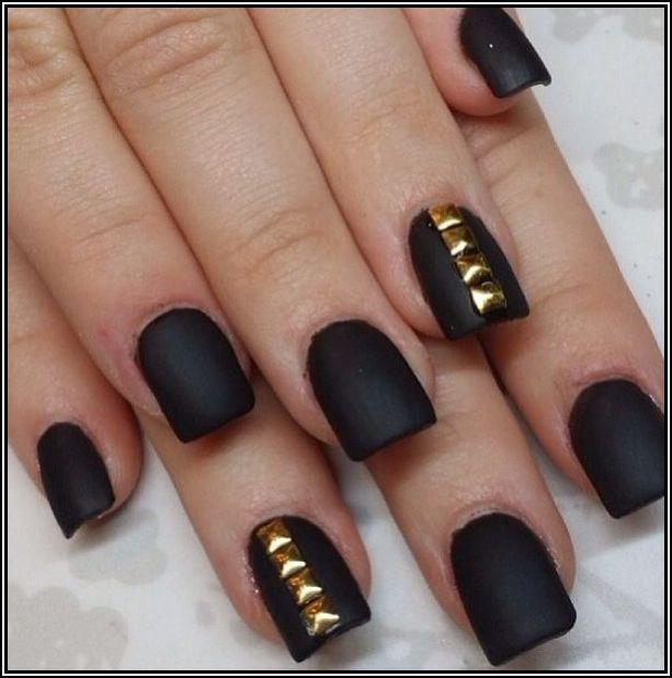 Matte Black Nail Polish Chanel