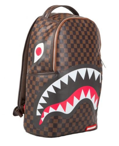 15decf956fa7 Sprayground Sharks in Paris PU Leather Limited Edition Backpack in ...