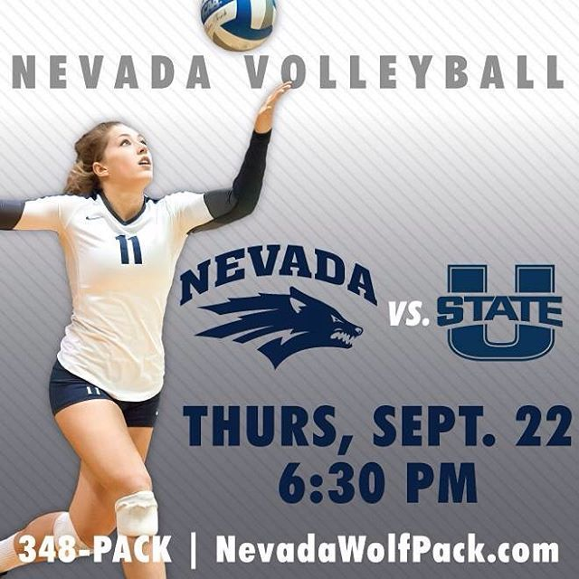 Nevada Volleyball Hosts Utah State In Their Conference Opener This Thursday At Nevada Utah State University Volleyball