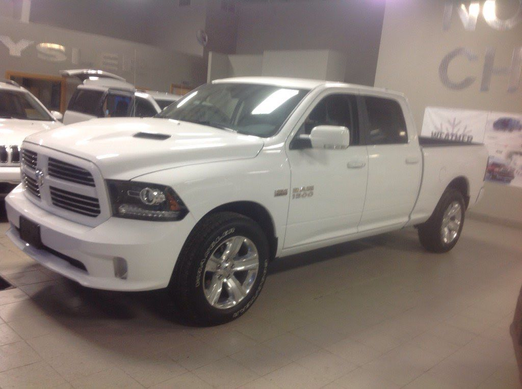 2016 Ram 1500 Sport Quad Cab 4x4 Exterior, Interior, and