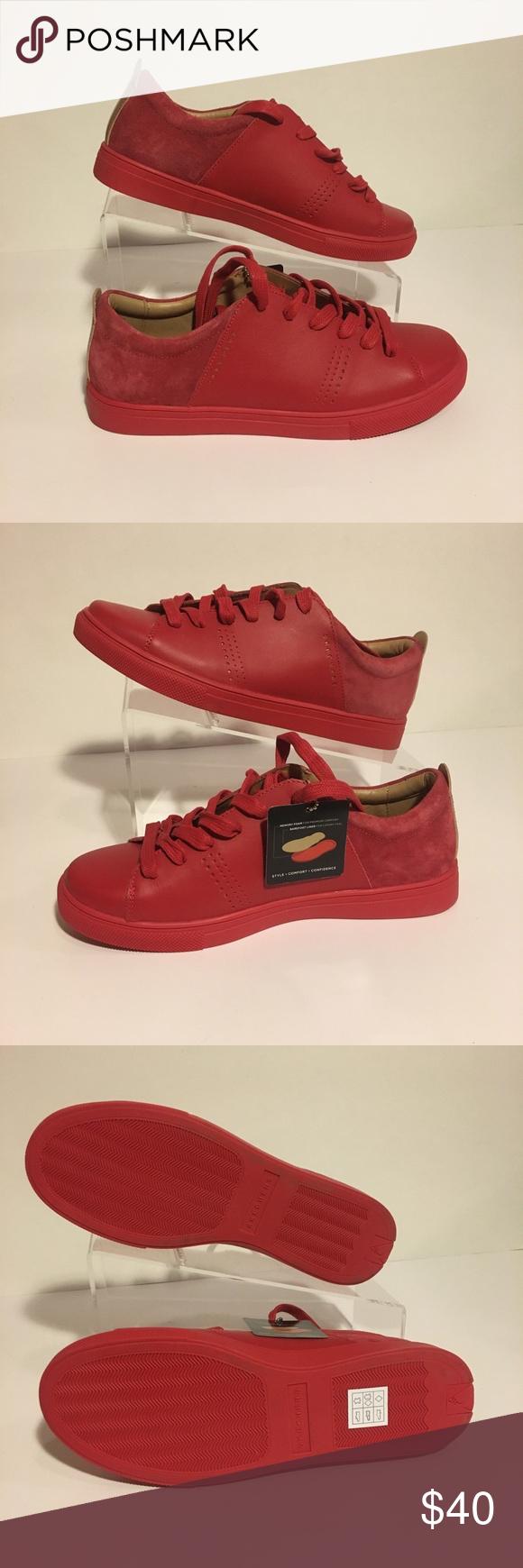Skechers Street Red Low Sneakers 73481